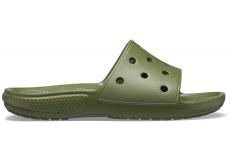 Classic Crocs Slide Army Green