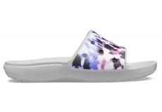 ClassicCrocs Tie Dye Mania Sld Multi/Light Grey
