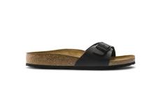Černé papuče Birkenstock Madrid Birko-Flor