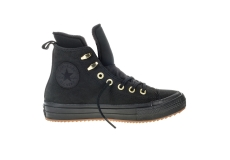 Čierne Converse Chuck Taylor All Star Waterproof Nubuck Hi