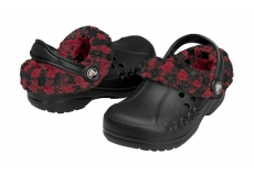 Kids Blitzen Lumber Jack Plaid  Black-True Red C10-C11