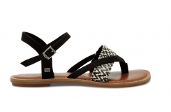 Černobílé dámské sandálky TOMS Lexie Sandal