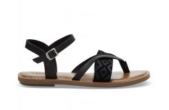 Dámske čierne sandálky TOMS Lexie