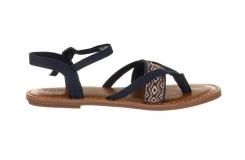 Dámske modré sandálky TOMS Lexie