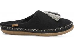 Dámske čierne papuče TOMS Wool Ivy