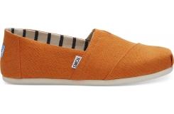 Pánske oranžové TOMS Russet Venice Collection Alpargata