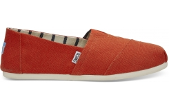 Pánske červené TOMS Orange Venice Collection Alpargatas