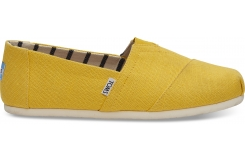 Pánske žlté TOMS Lemon Venice Collection Alpargatas