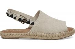 Dámske krémové sandálky TOMS Oxford Clara