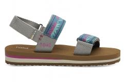 Detské farebné sandálky TOMS Youth Ray Sandals