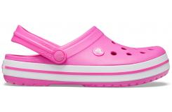 Crocband Electric Pink/White M4W6