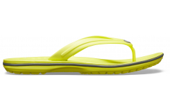 Crocband Flip  Citrus/Slate Grey