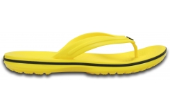 Crocband Flip - Lemon/Black M4W6