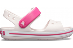 Crocband Sandal Kids Barely Pink/Candy Pink