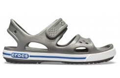 Crocband II Sandal PS Slate Grey/Blue Jean C10