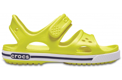 Crocband II Sandal Tennis Ball Green/White