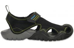 Swiftwater Sandal - Black/Charcoal M8