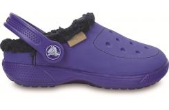 ColorLite Lined Clog Kids Cerulean Blue/Navy C6
