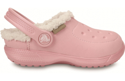 ColorLite Lined Clog Kids Pearl Pink/Oatmeal C6