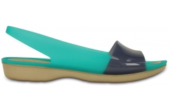 Colorblock Flat Tropical Teal/Nautical Navy W5