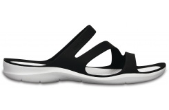 Swiftwater Sandal W - Black/White W6