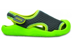 Swiftwater Mesh Sandal - Graphite/Volt Green C10