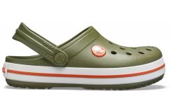 Crocband Clog K Army Green/Burnt Sienna