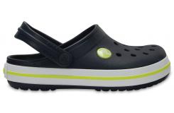 Crocband Clog K Navy/Citrus C10