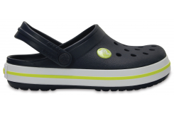 Crocband Clog K Navy/Citrus