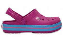 Crocband Clog K - Vibrant Violet C7