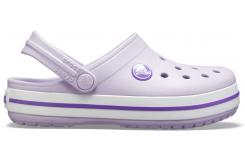 Crocband Clog K Lavender/Neon Purple C10