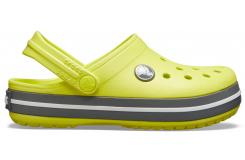 Crocband Clog K Citrus/Slate Grey