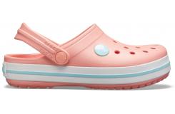 Crocband Clog K Melon/Ice Blue C10