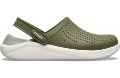 LiteRide Clog Army Green/White M10W12