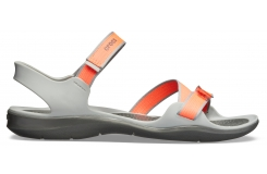 Swiftwater Webbing Sandal W Bright Coral/Light Grey W10