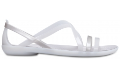 Isabella Strappy Sandal W Oyster/Pearl White W5