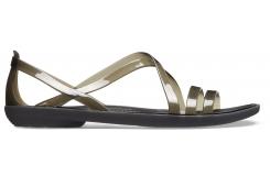 Isabella Strappy Sandal W Black W5