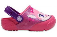 Crocs Fun Lab Lights Clog K Paradise Pink C6
