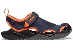 Swiftwater Mesh Deck Sandal M Navy/Tangerine M10