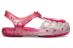 Crocs Isabella Charm Sandal K Pink Ombre C10