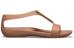 Crocs Serena Embellish Sndl W Bronze/Bronze W10