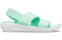 LiteRide Stretch Sandal W Neo Mint/Almost White W10