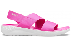 LiteRide Stretch Sandal W Electric Pink/Almost White W10