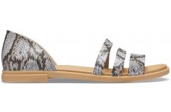 Crocs Tulum Open Flat W Mushroom/Stucco