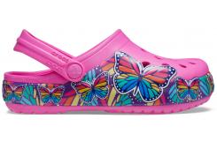 CrocsFL MltiBtterfly BdLghtCgK Electric Pink