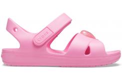 Classic Cross Strap Sandal PS Pink Lemonade C10