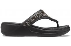Crocs Monterey Diamante WdgFpW Black