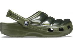 Classic Neo Puff Clog Army Green