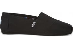 Pánske čierne TOMS Black Core Classics Alpargata