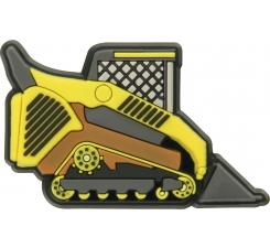 Odznačik Jibbitz - Bulldozer Truck